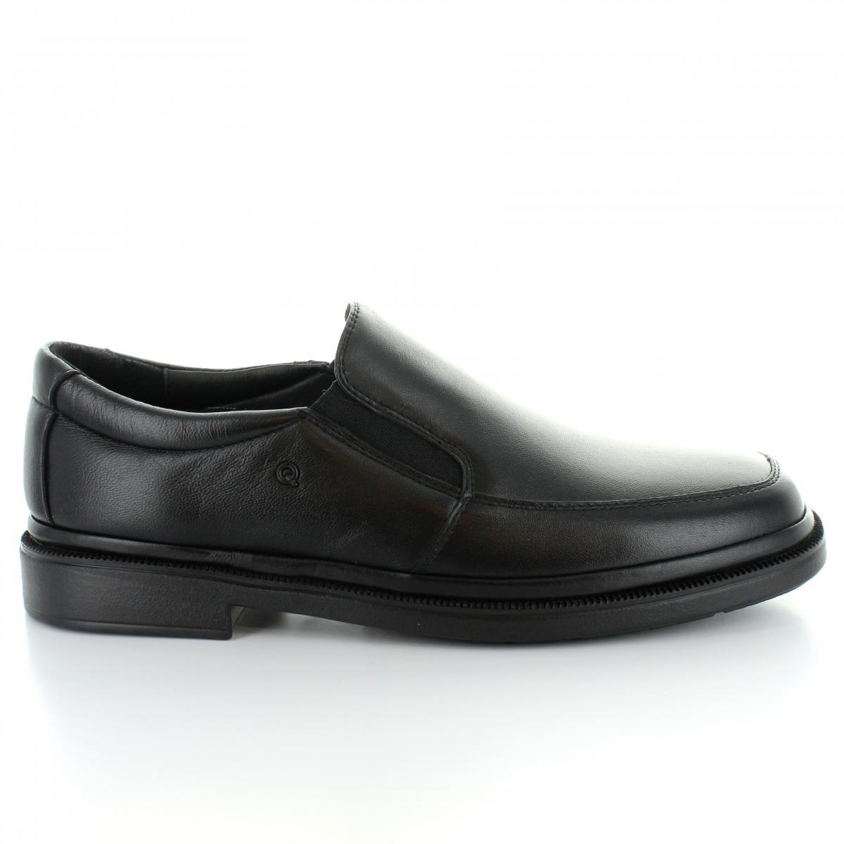 Mocasin marca Quirelli (anterior) modelo 88403 Color Negro 2aeb4149604
