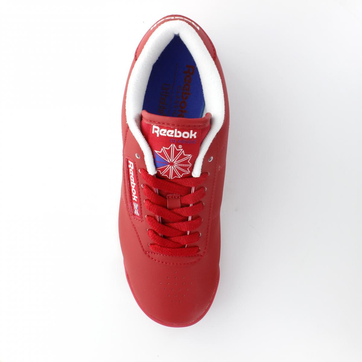 a78b7d4465ab6 ... Tenis para Mujer Reebok V68704 Color Rojo ...
