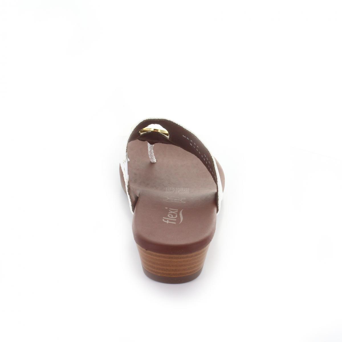 Sandalia Color Marca Modelo Blanco Flexi 44106 thxsdQrC