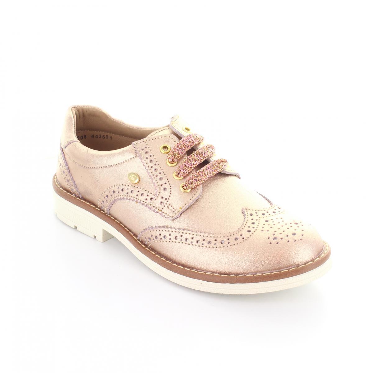 Zapato para Niña Coqueta 442601-V Color Oro Rosado