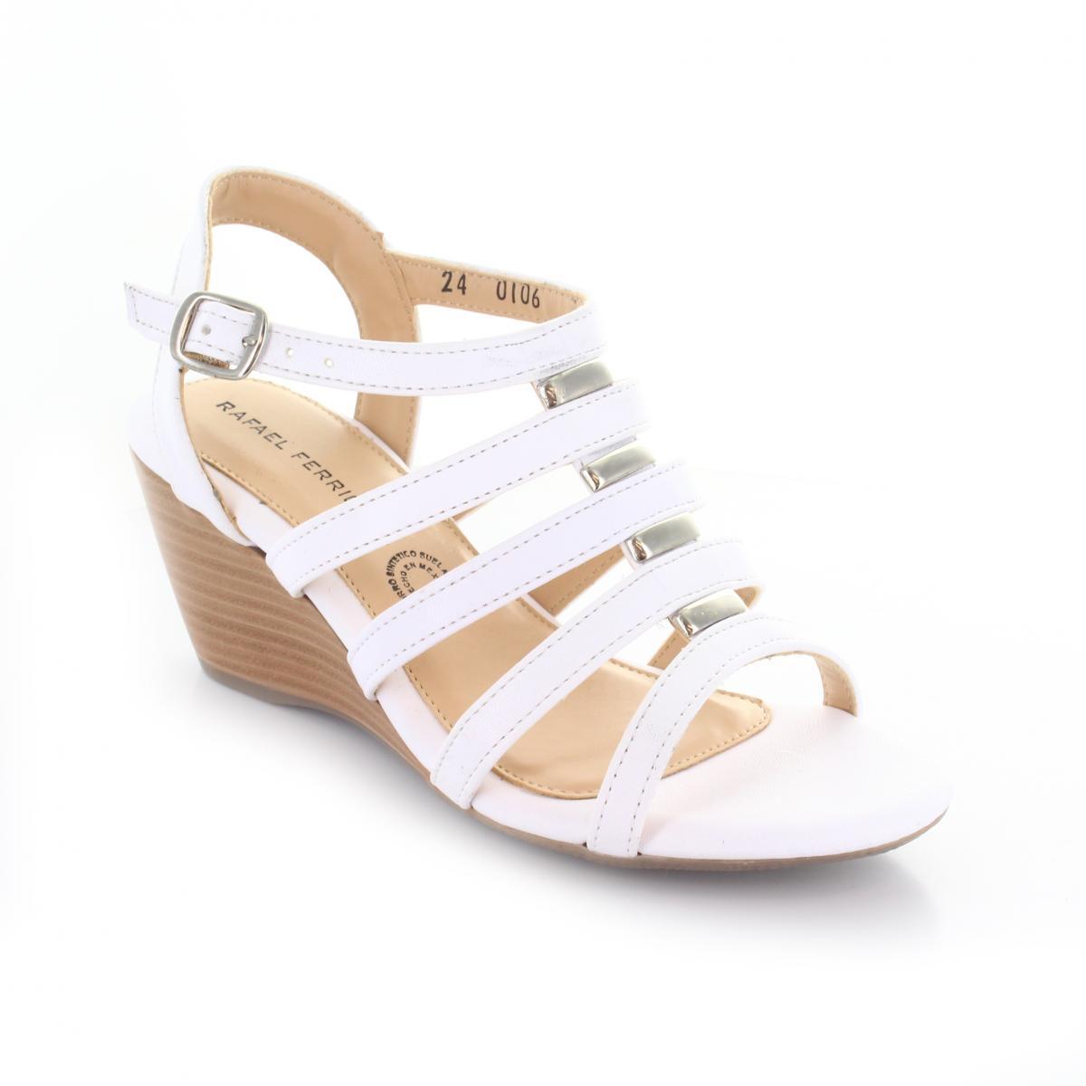5241862c2b4 Sandalia marca Rafael Ferrigno modelo 0106 Color Blanco
