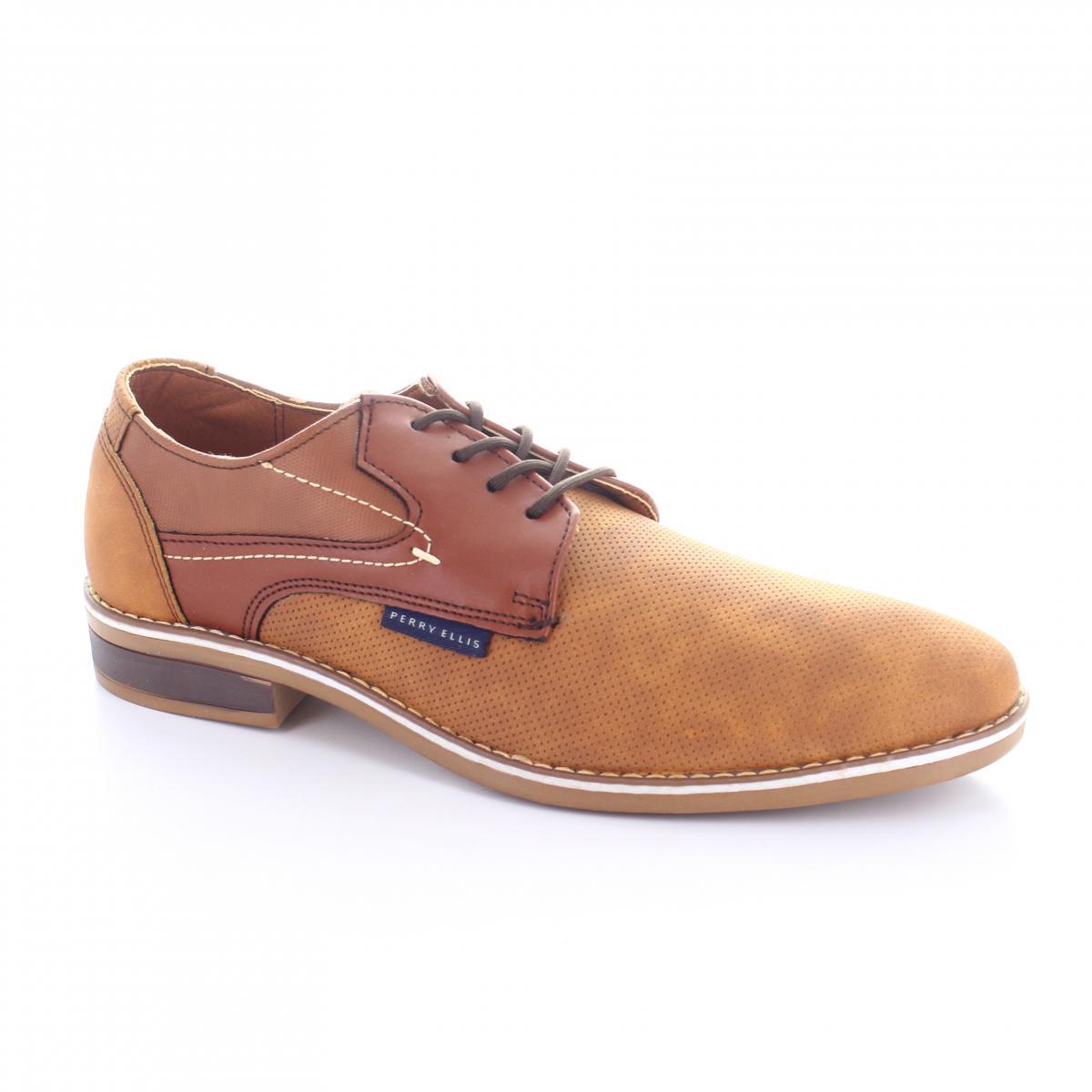 ea0ca9ba9f Zapato marca Perry Ellis modelo PE-7010 Color Camel
