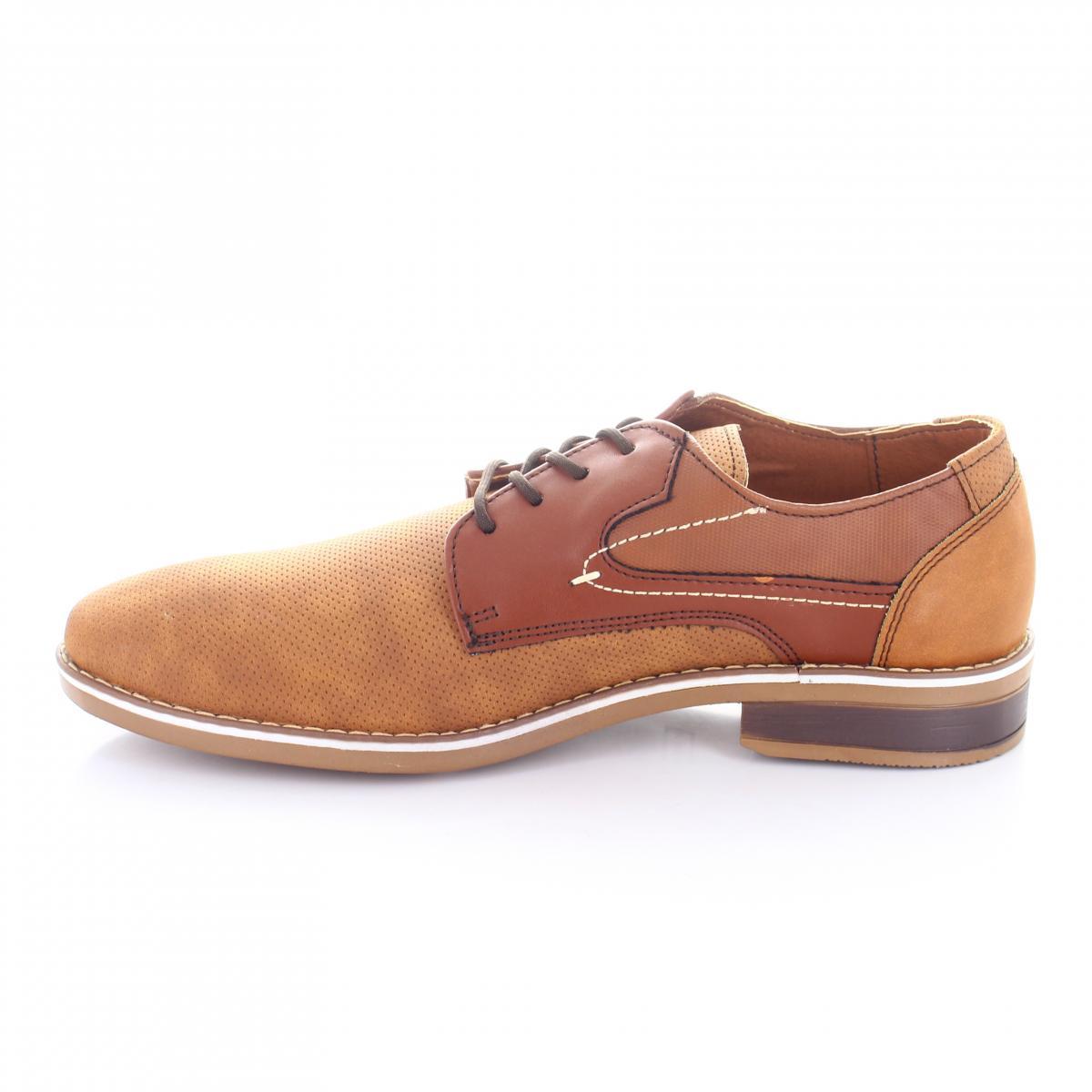 92b63231ef ... Zapato para Hombre Perry Ellis PE-7010 Color Camel ...