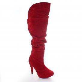 Bota para Mujer Muzza 2050 Color Rojo
