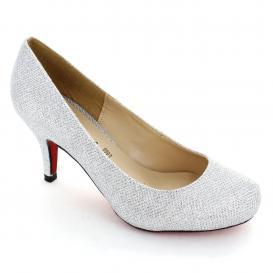 Zapatilla para Mujer Muzza 9161 Color Plata