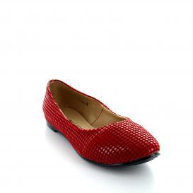 Balerina para Mujer Muzza 1150 Color Rojo