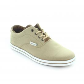 Tenis para Hombre Perry Ellis PE-1327 Color Beige / Cafe