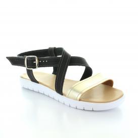 Sandalia para Mujer Muzza 147 Color Negro/oro