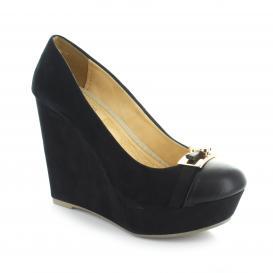 Plataforma para Mujer Top Moda 4630 Color Negro
