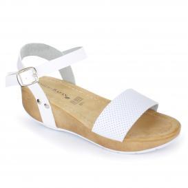 Sandalia para Mujer Emilio Bazan 1021 Color Blanco
