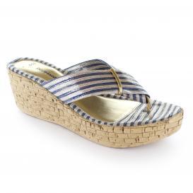 Sandalia para Mujer Emilio Bazan 17005 Color Marino