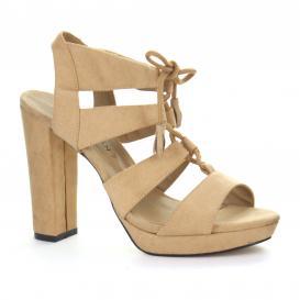 Zapatilla para Mujer Emilio Bazan CR3081 Color Camel