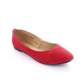 Balerina para Mujer Muzza 981 Color Rojo