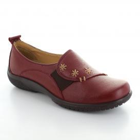 Mocasin para Mujer Brantano 1812 Color Rojo