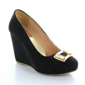 Plataforma para Mujer Muzza 6362 Color Negro