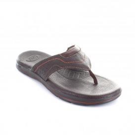Sandalia para Hombre Flexi 98704 Color Chocolate