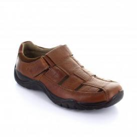Sandalia para Hombre Flexi 19128 Color Tan