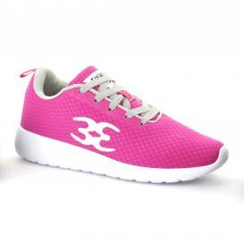 Tenis para Mujer 360 Footwear 304 Color Fiusha / Blanco