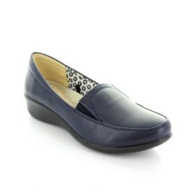 21563451 Mocasin para Mujer Comfort Fit 12369 Color Navy