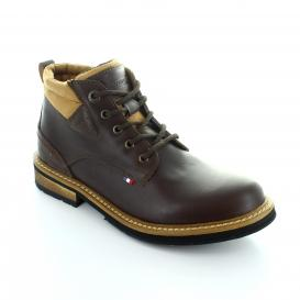 Botin para Hombre Michelin 17001 Color Cafe Obscuro