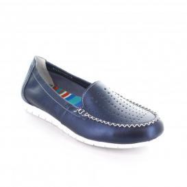 Mocasin para Mujer Flexi 44703 Color Azul