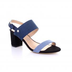 Zapatilla para Mujer Emilio Bazan - Distribucion 4125 Color Azul