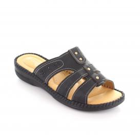 Sandalia para Mujer Comfort Fit 13103 Color Black