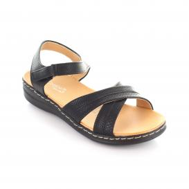 Sandalia para Mujer Comfort Fit 13141 Color Black