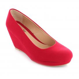 Plataforma para Mujer Muzza 6826 Color Rojo