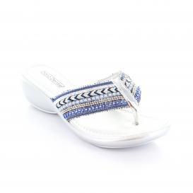 Sandalia para Mujer Diana Denisse 32060 Color Multi Azul Rey