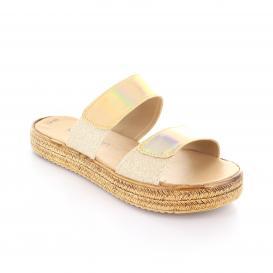Sandalia para Mujer Muzza 180 Color Oro/mercurio