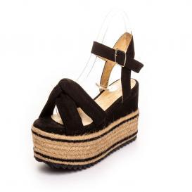 Sandalia para Mujer Emilio Bazan 18005 Color Negro