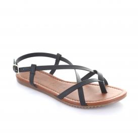 Sandalia para Mujer Emilio Bazan M-708 Color Negro
