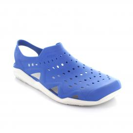 Sandalia para Hombre Crocs SWWM Color Blue Jean White