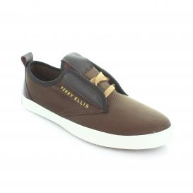 Tenis para Hombre Perry Ellis PE-5452 Color Cafe