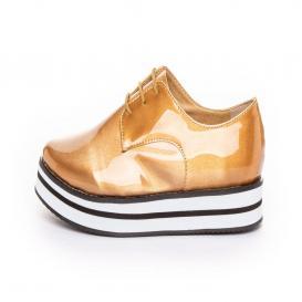 Zapato para Mujer Redberry 8011 Color Oro