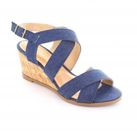 Sandalia para Mujer Lady Paulina 88502 Color Azul