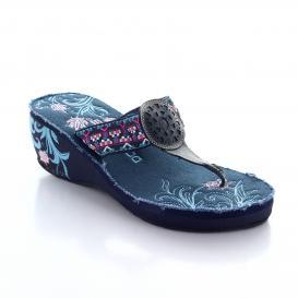 Sandalia para Mujer D&c 05023 Color Azul