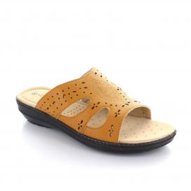 Sandalia para Mujer Comfort Fit 11400 Color Tan