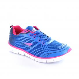 Tenis para Mujer Catapult 11119 Color Royal Blue / Fucsia