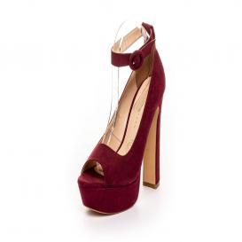 Zapatilla para Mujer Emilio Bazan - Distribucion 3081 Color Burgundy