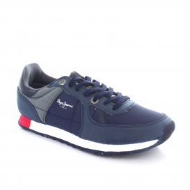 Tenis para Hombre Pepe Jeans 4401 Color Marino/gris