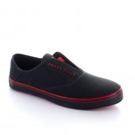 bb76974b6f Tenis para Hombre Perry Ellis PE-5493 Color Negro rojo