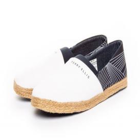 Zapato para Hombre Perry Ellis PE-6770 Color Blanco/marino