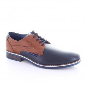 Zapato para Hombre Perry Ellis PE-1761 Color Marino/cognac