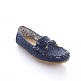 Mocasin para Mujer Comfort Fit 14932 Color Azul
