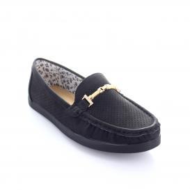 Mocasin para Mujer Comfort Fit 14073 Color Negro