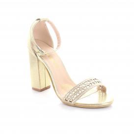 Zapatilla para Mujer Rafael Ferrigno 6107 Color Oro Ingles