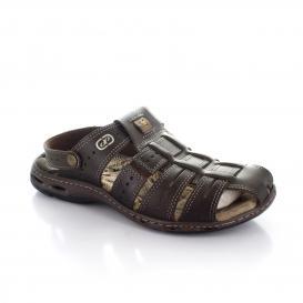 Sandalia para Hombre Pegada 30615-03 Color Musgo