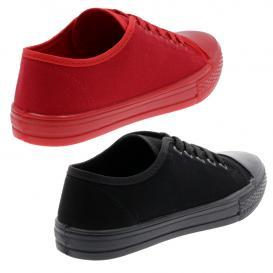 Tenis para Mujer Indiko 1 Color Rojo/negro